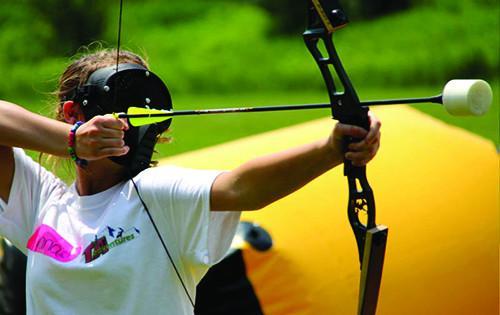 jeu archery tag pour un enterrement de vie de garçon