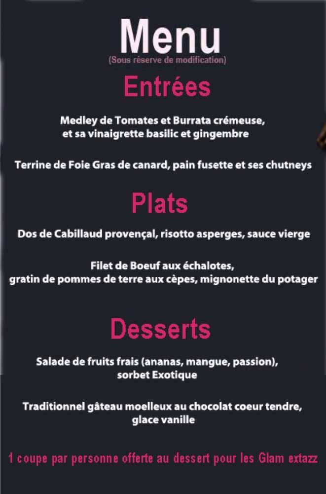 menu EVG