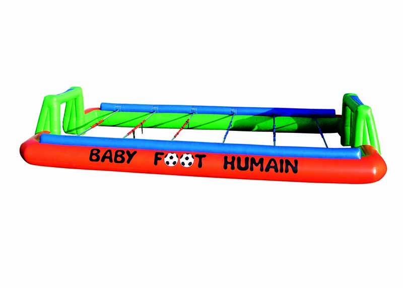 Baby foot humain expérience pour un EVG à Paris