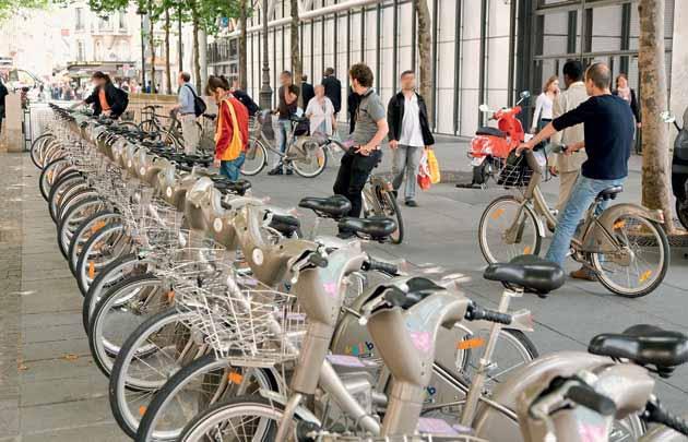 Visite guidée en vélo à Paris