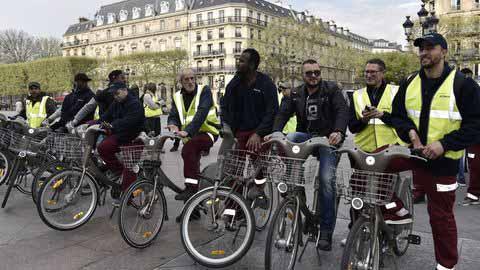 Visite guidée en vélo challenges et défis
