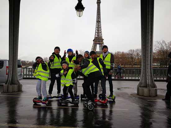 Balade en hoverboard ou comment visiter Paris pour un enterrement de vie de garçon