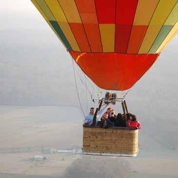 vol en montgolfière pour enterrement de vie de garçon