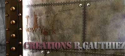 Décoration murs métal style industriel et Eiffel restaurants, salle de sport, brasserie