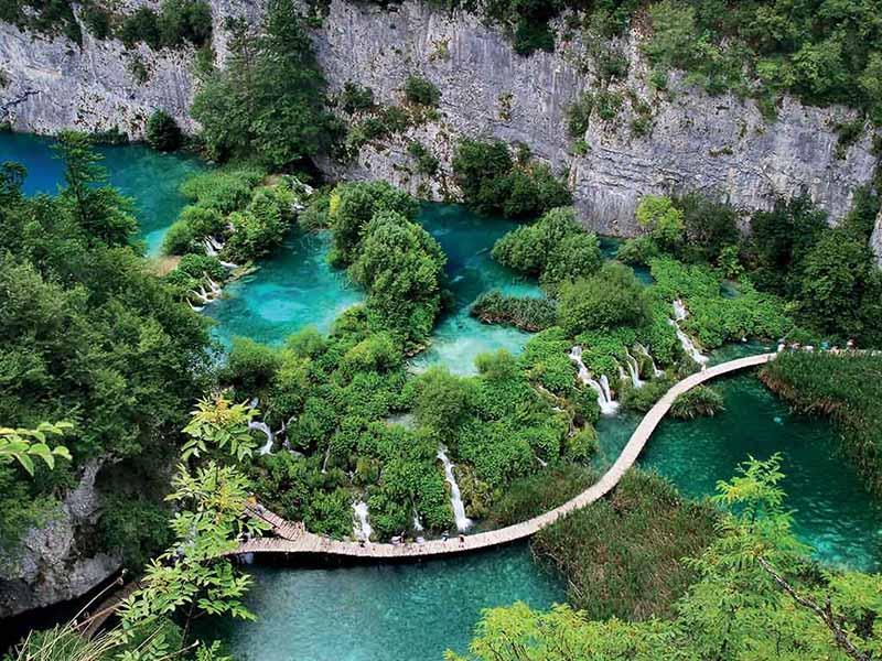 week end à l'étranger EVG Croatie