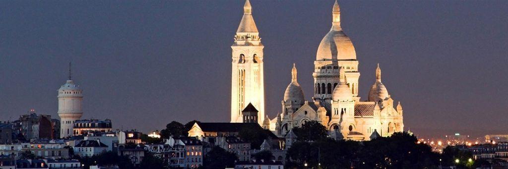 Soirée EVG Paris panorama montmartre