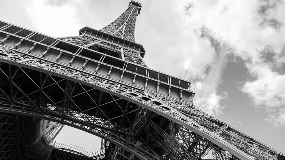 Tour Eiffel tour enterrement de vie de garçon à Paris